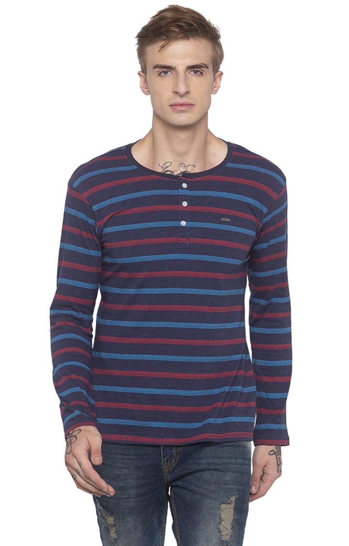 globus | Blue Striped T-Shirt