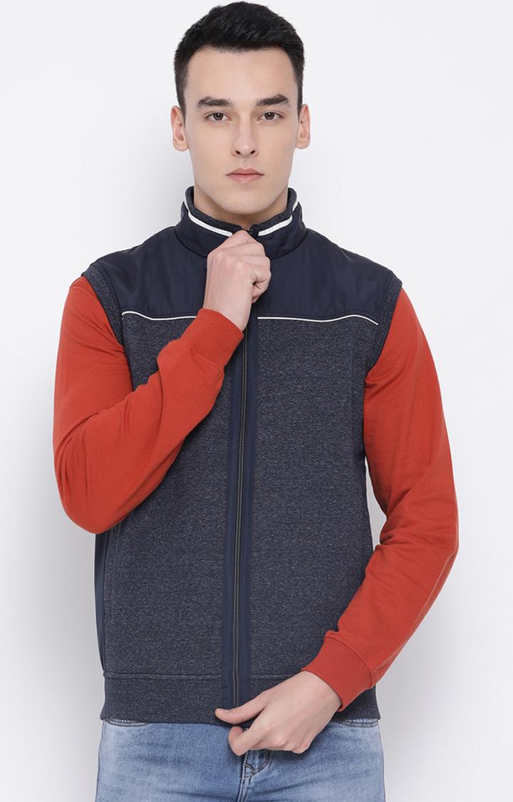 OCTAVE | Blue Melange Sweatshirt