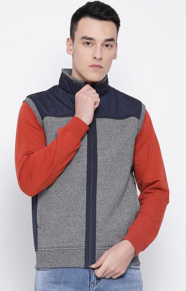 OCTAVE | Grey Melange Sweatshirt