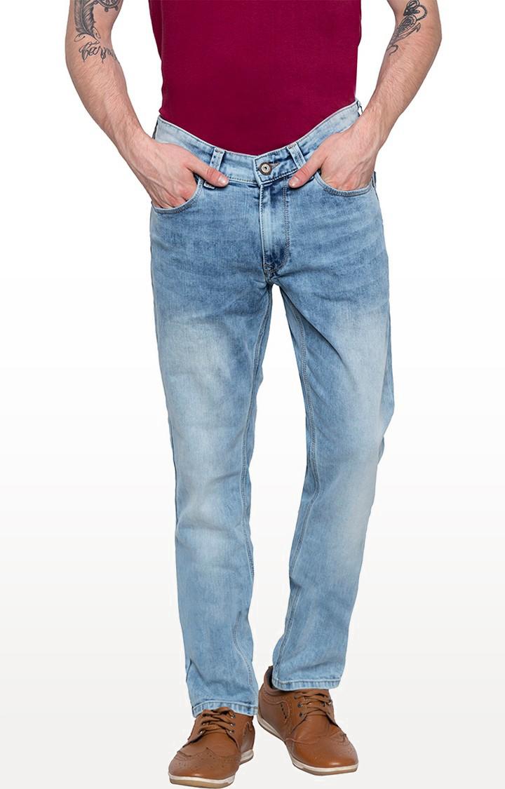 Spykar | Spykar Light Blue Tapered Jeans