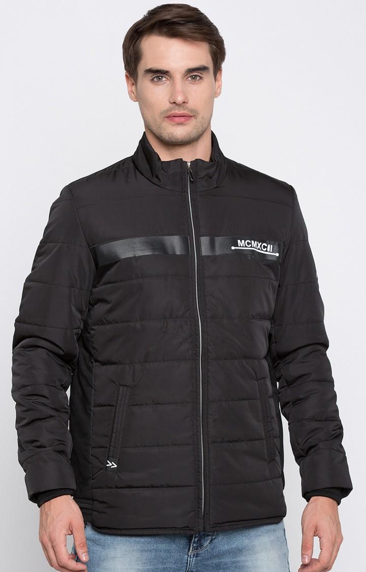 Spykar | spykar Black Solid Regular Jacket