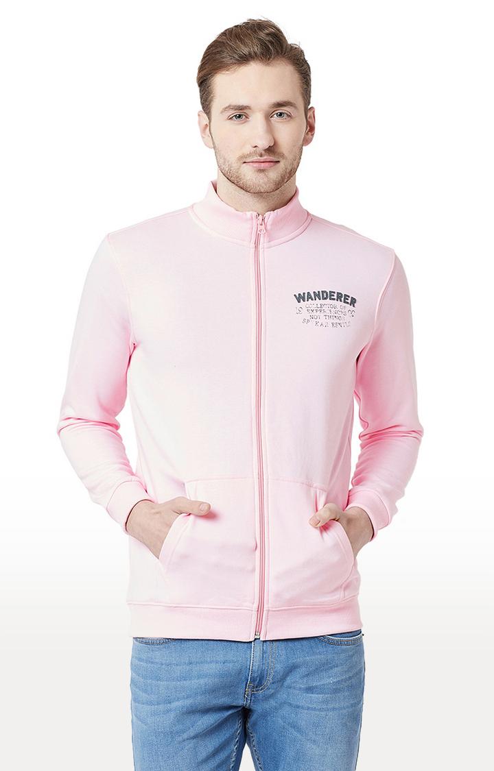 Spykar | spykar Pink Cotton T-Shirt