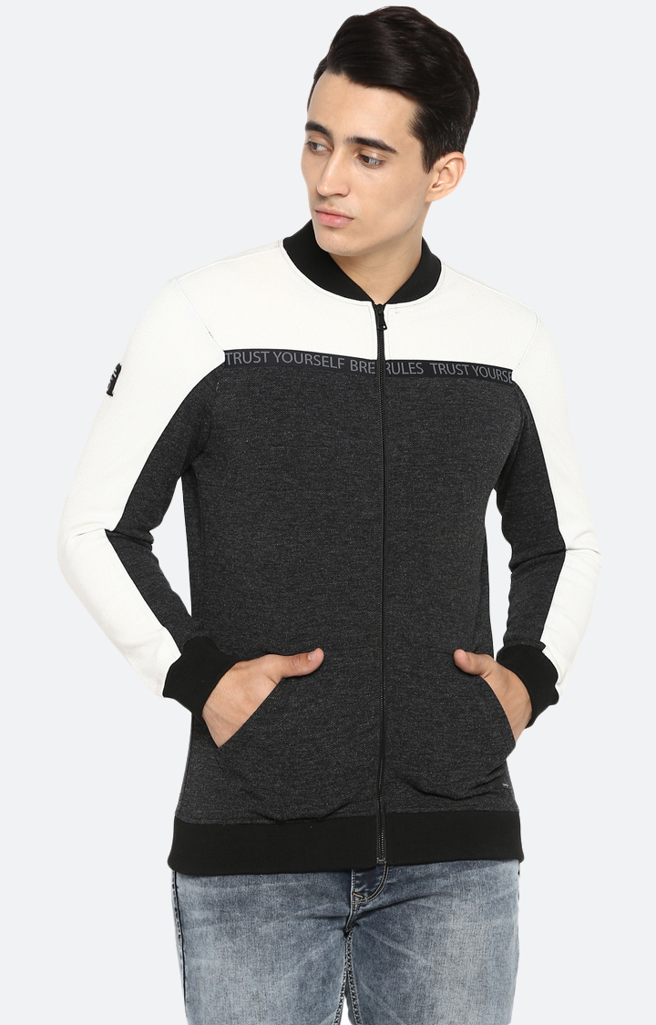Spykar | spykar Grey Cotton Sweatshirt