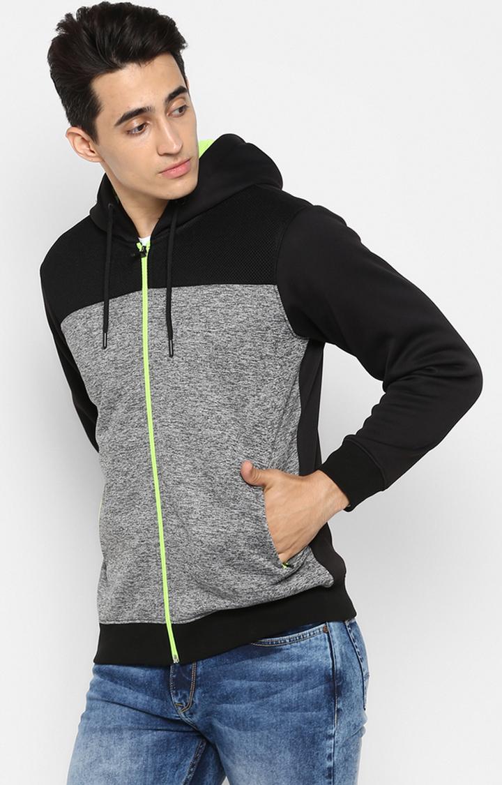 Spykar | spykar Black Polyester Sweatshirt