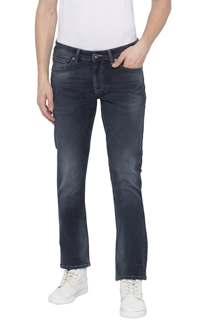 Spykar | Spykar Dark Indigo Solid Tapered Jeans