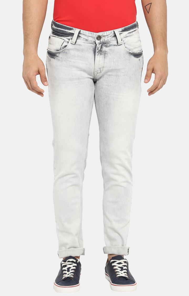 Spykar | spykar Grey Low Rise Skinny Jeans