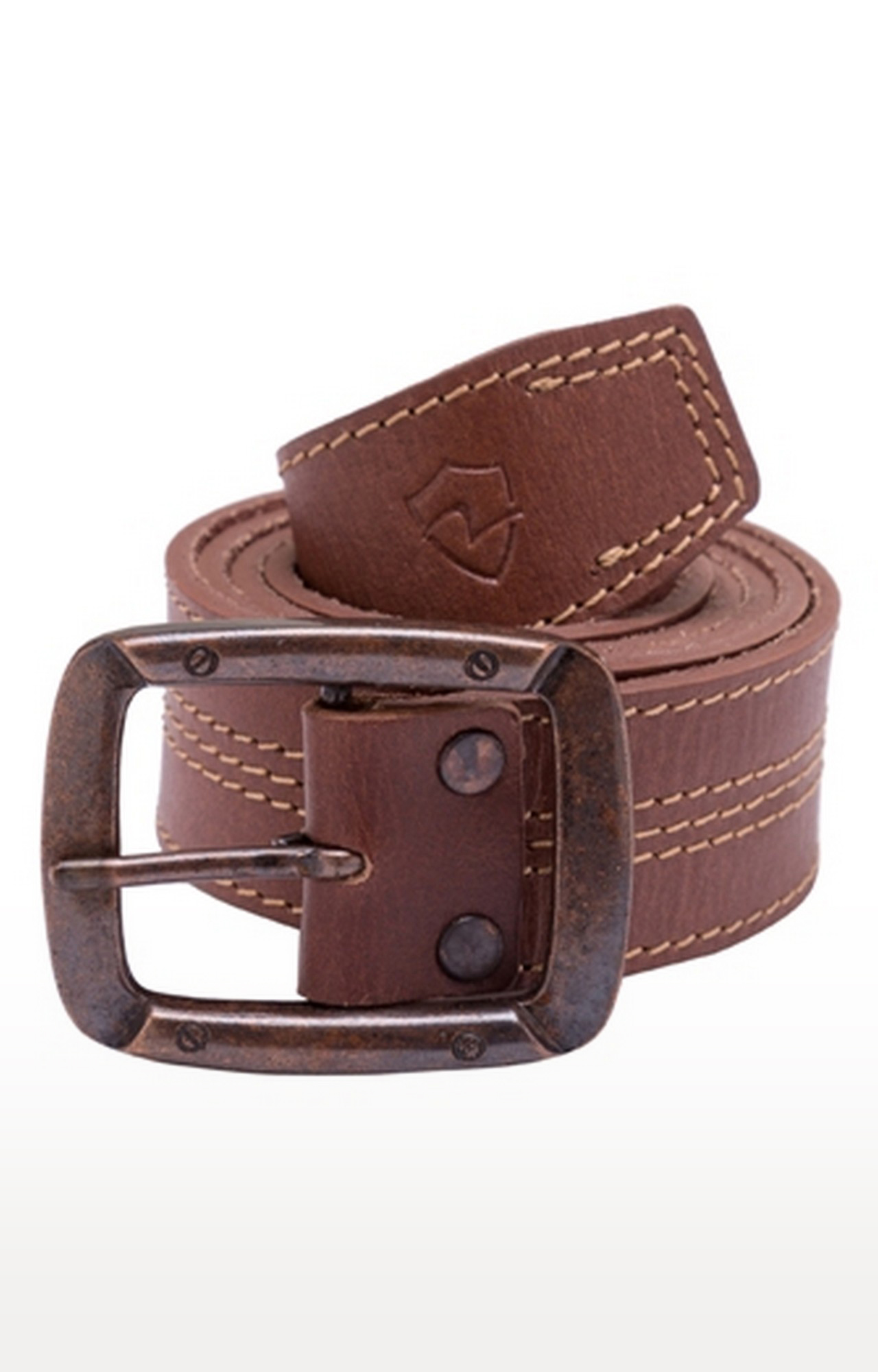 Spykar   Spykar Brown Leather Belts