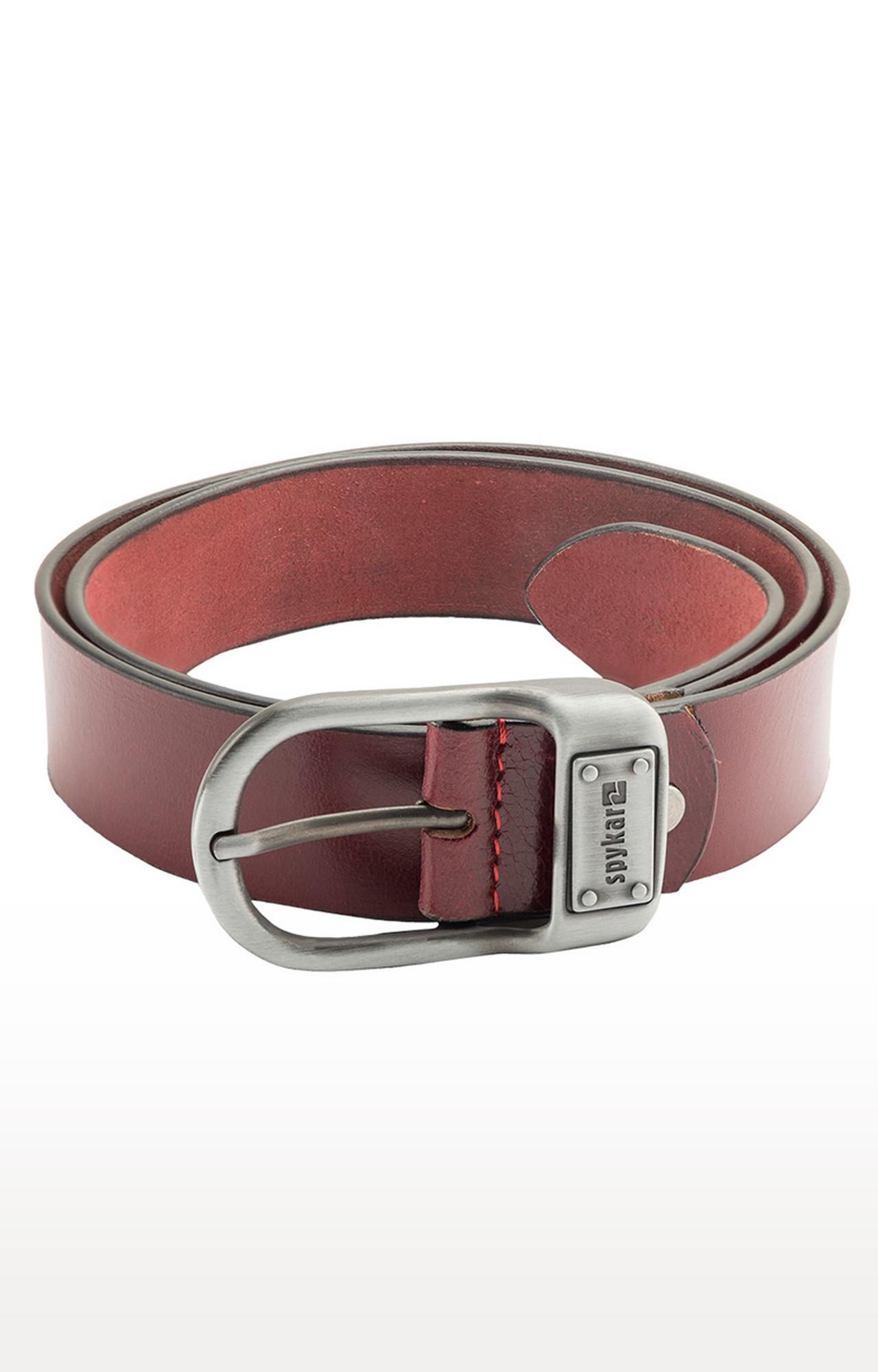 Spykar | Spykar Wine Leather Belts