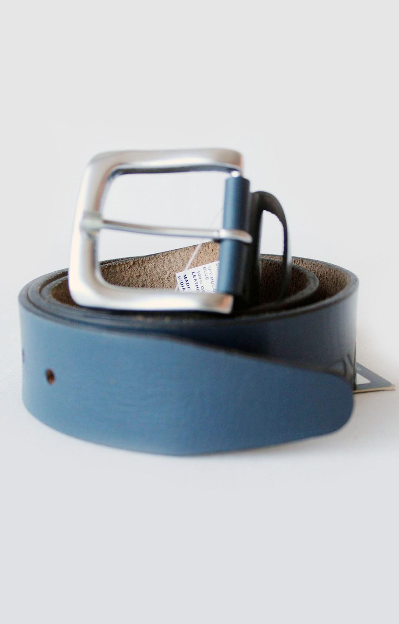 Spykar | Spykar Blue Leather Belt
