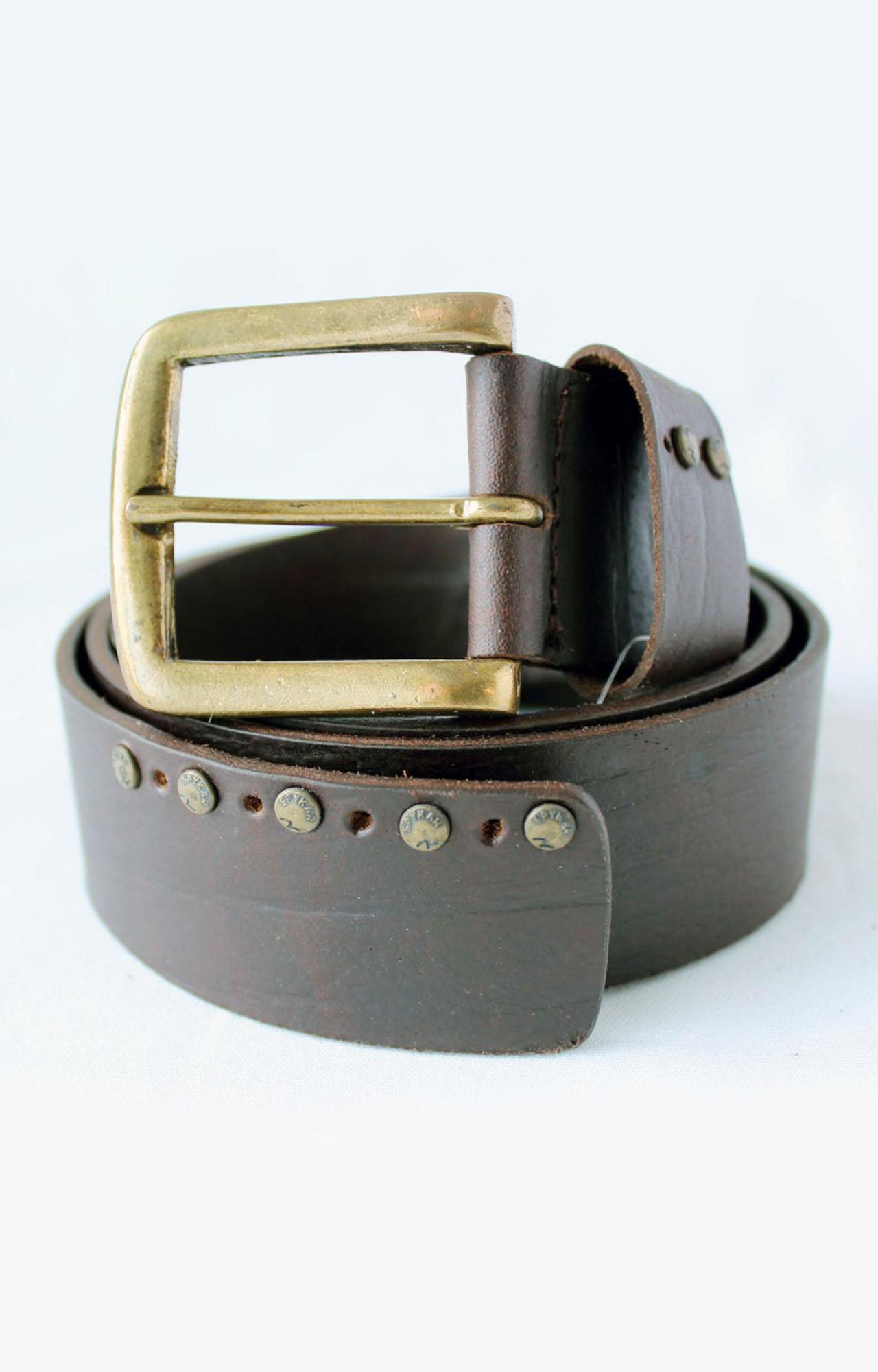 Spykar   Spykar Brown Leather Belt