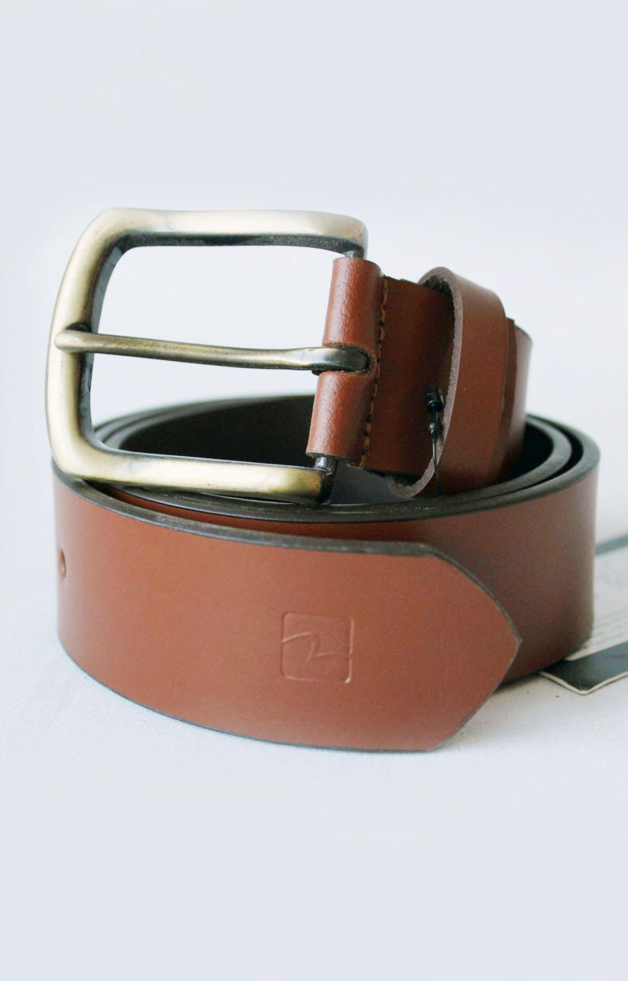 Spykar   Spykar Tan Leather Belt