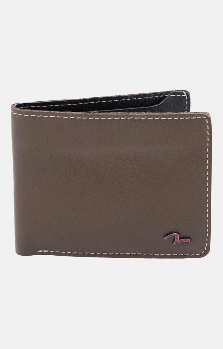 Spykar   Spykar Olive Leather Wallets