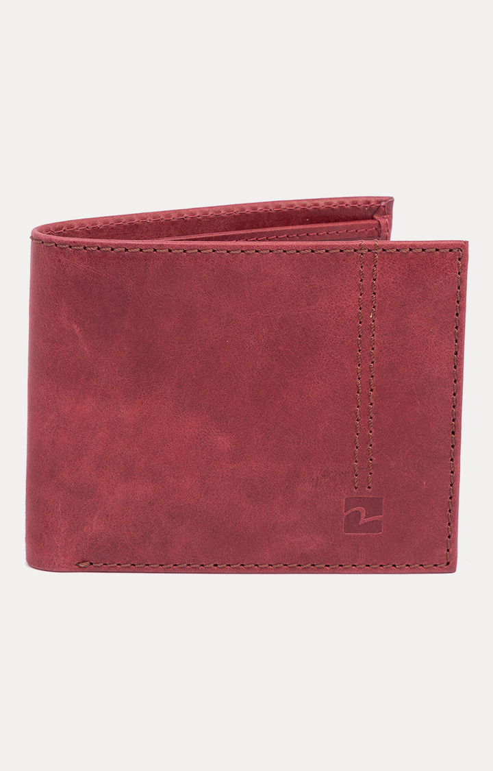 Spykar | Spykar Maroon Wallet
