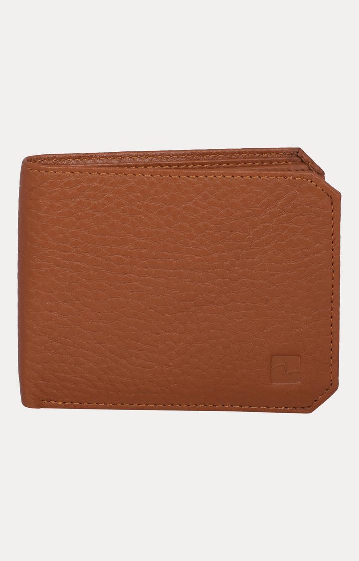 Spykar   Spykar Tan Leather Wallets