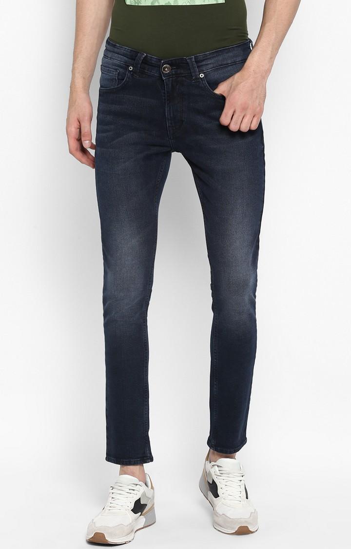 Spykar | Spykar Dark Blue Solid Super Skinny Fit Jeans