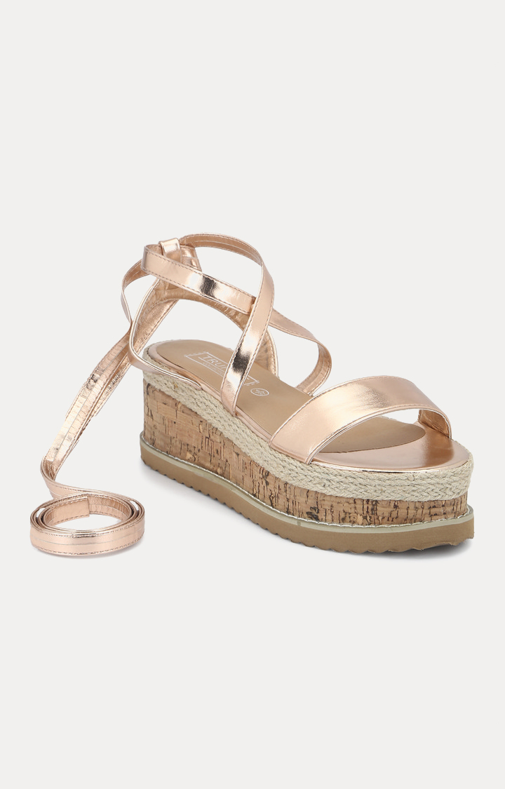 Truffle Collection | Rose Gold Wedges