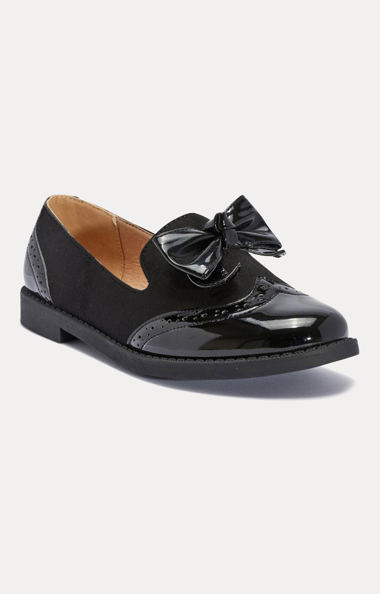 Truffle Collection   Black Oxfords