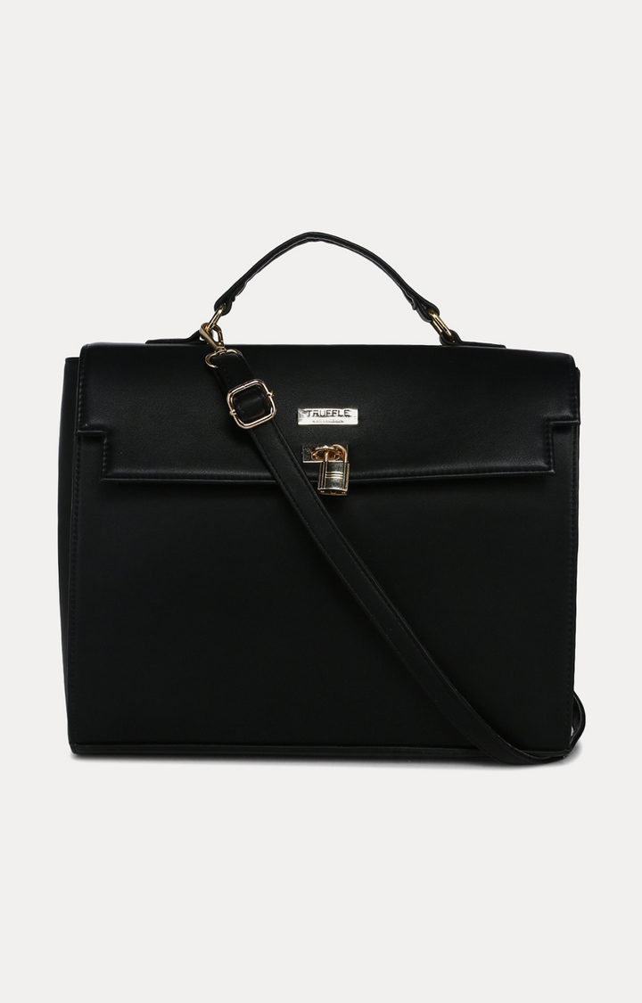 Truffle Collection | Black Handbag