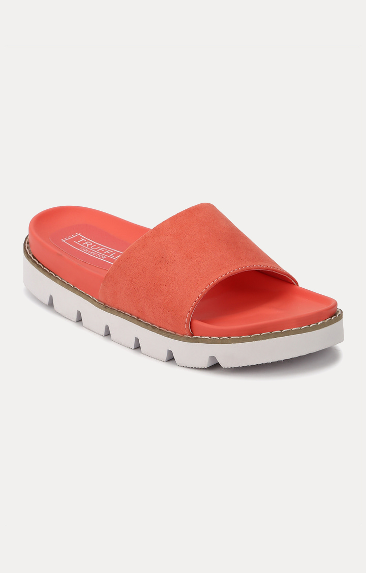 Truffle Collection | Coral Slip-ons