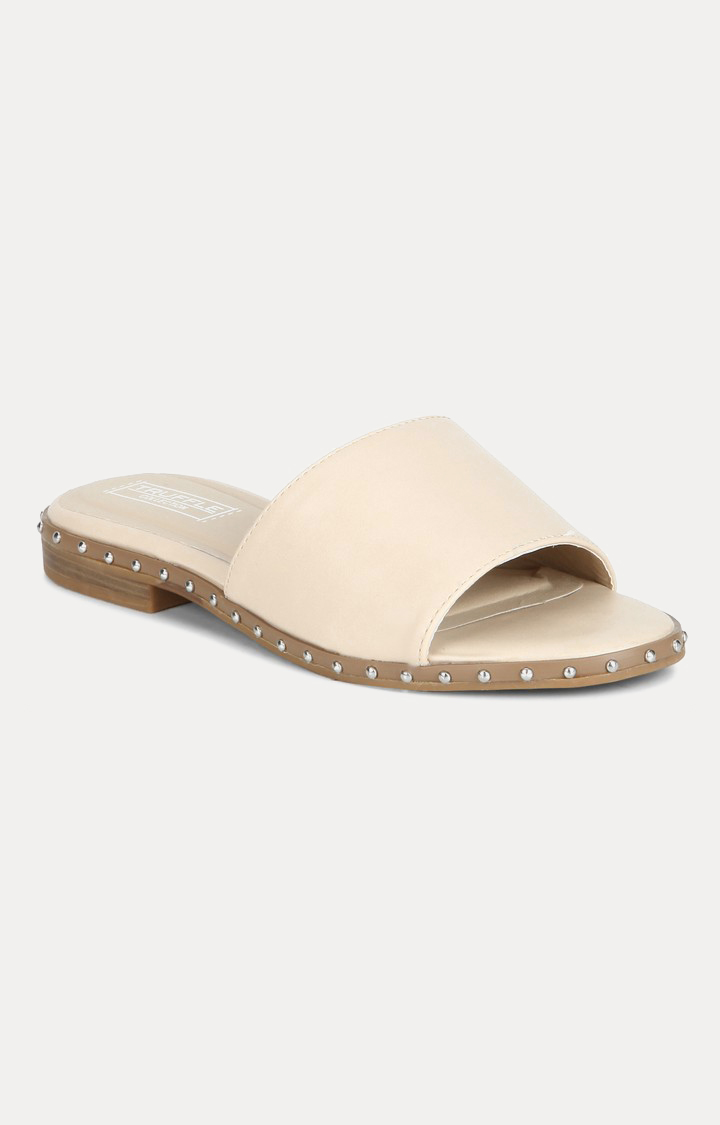 Truffle Collection | Nude Slip-ons
