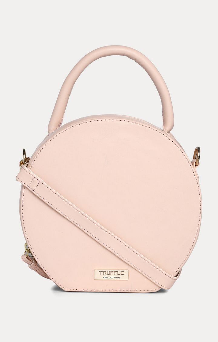 Truffle Collection | Pink Sling Bag