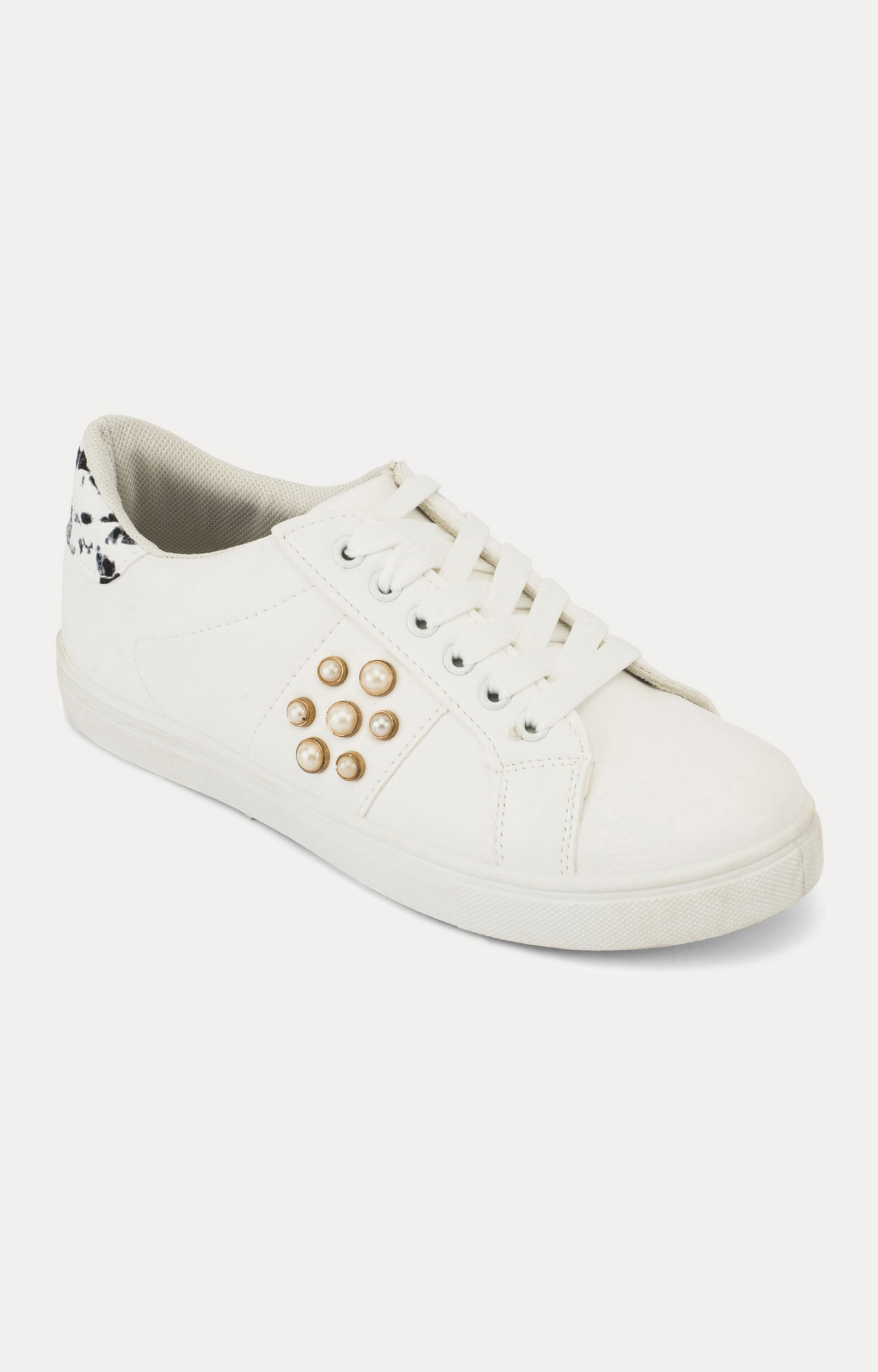 Truffle Collection   White Sneakers