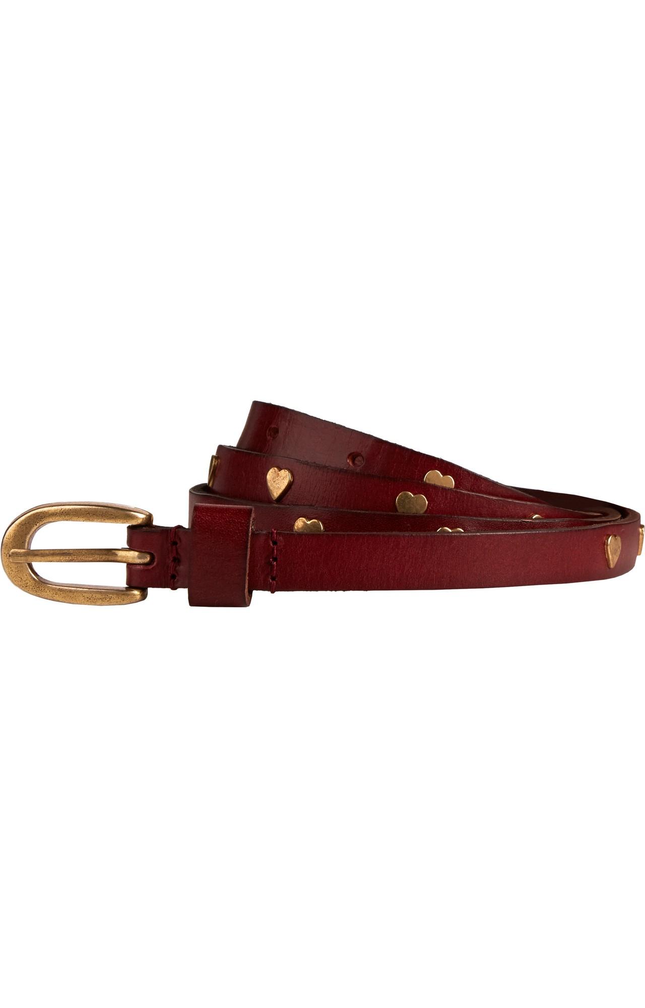 Scotch & Soda | thin leather belts with studs