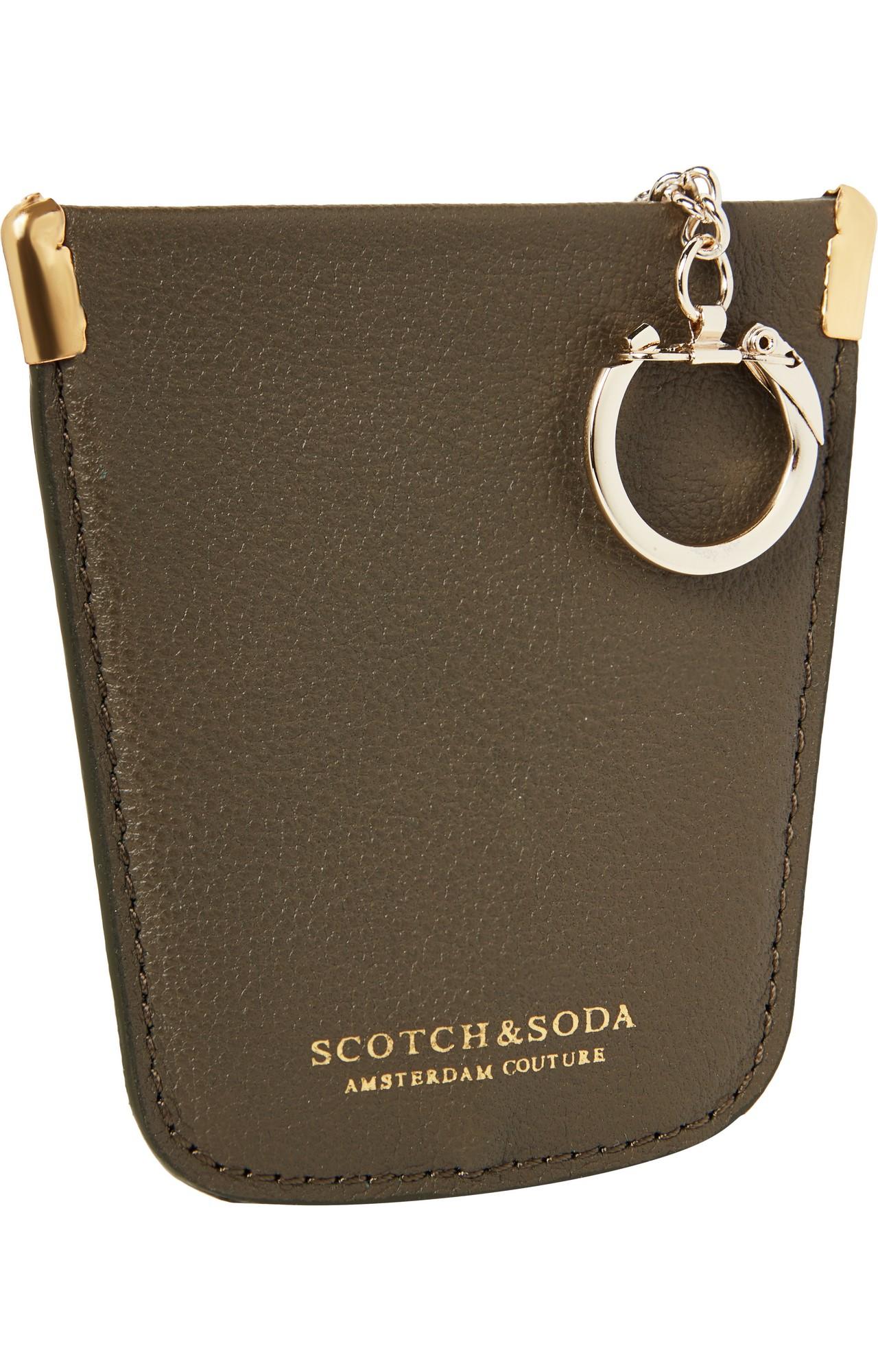 Scotch & Soda | Brown Key Hanger