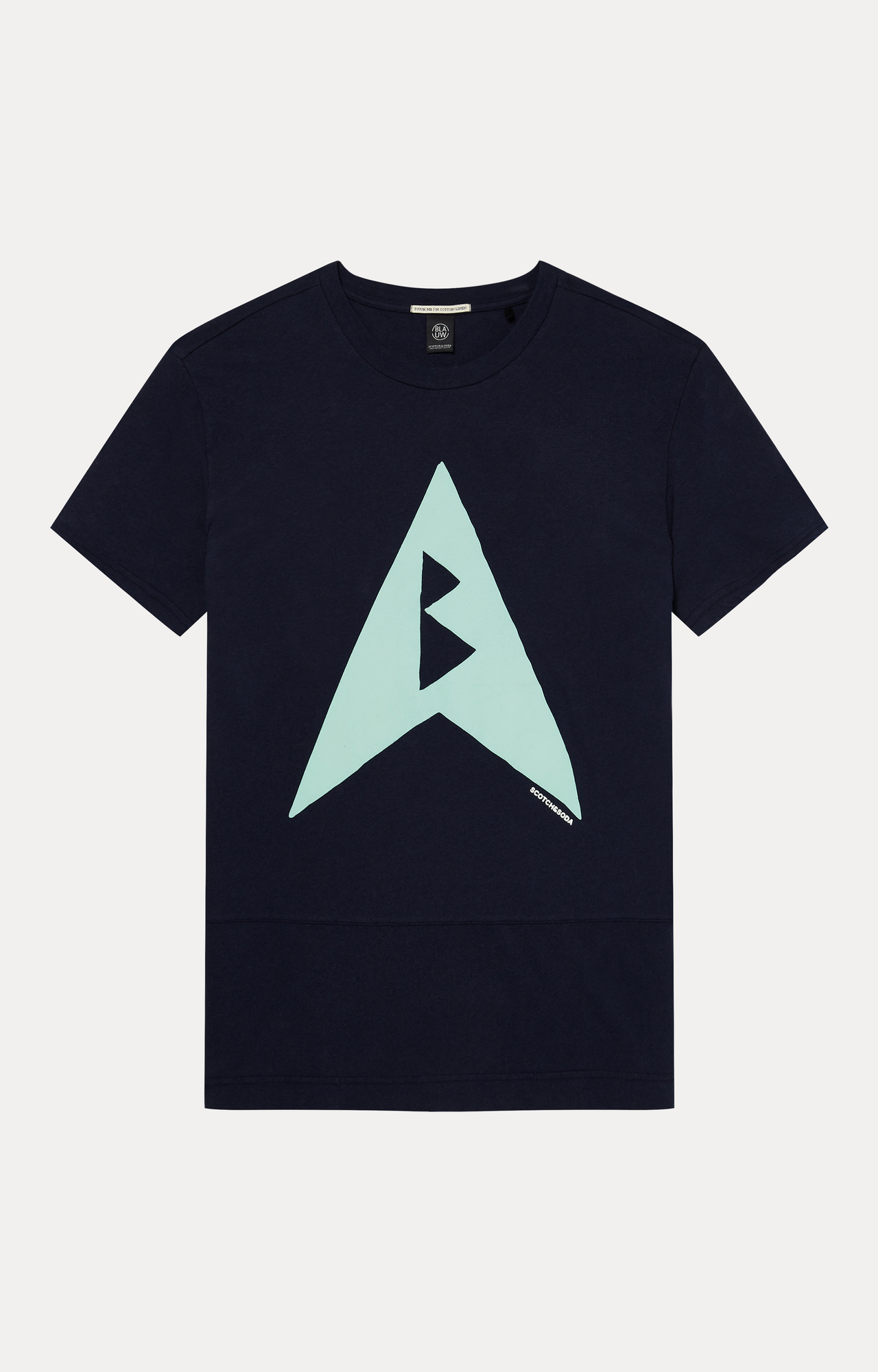 Scotch & Soda   Navy Printed T-Shirt