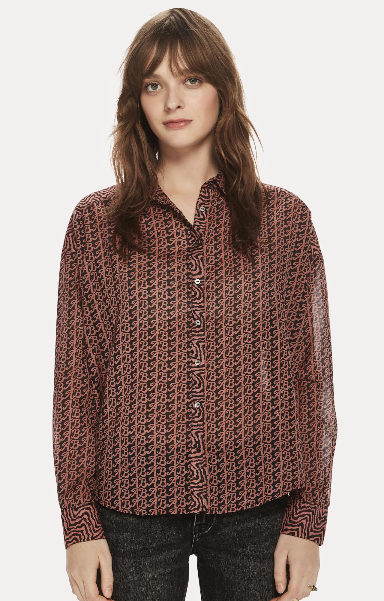 Scotch & Soda | Brown Printed Casual Shirt