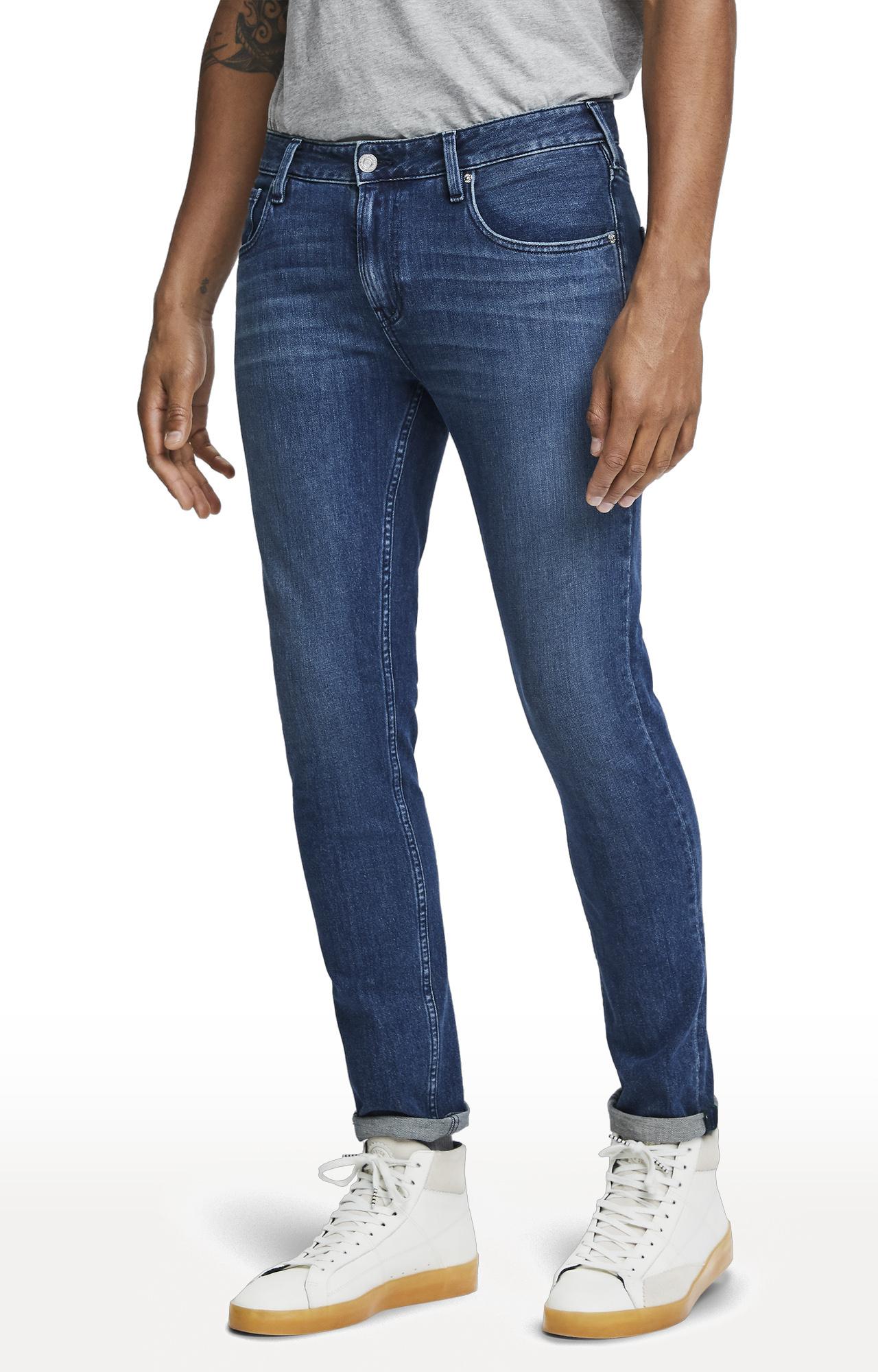 Scotch & Soda | Ink Wash Solid Skim Jeans