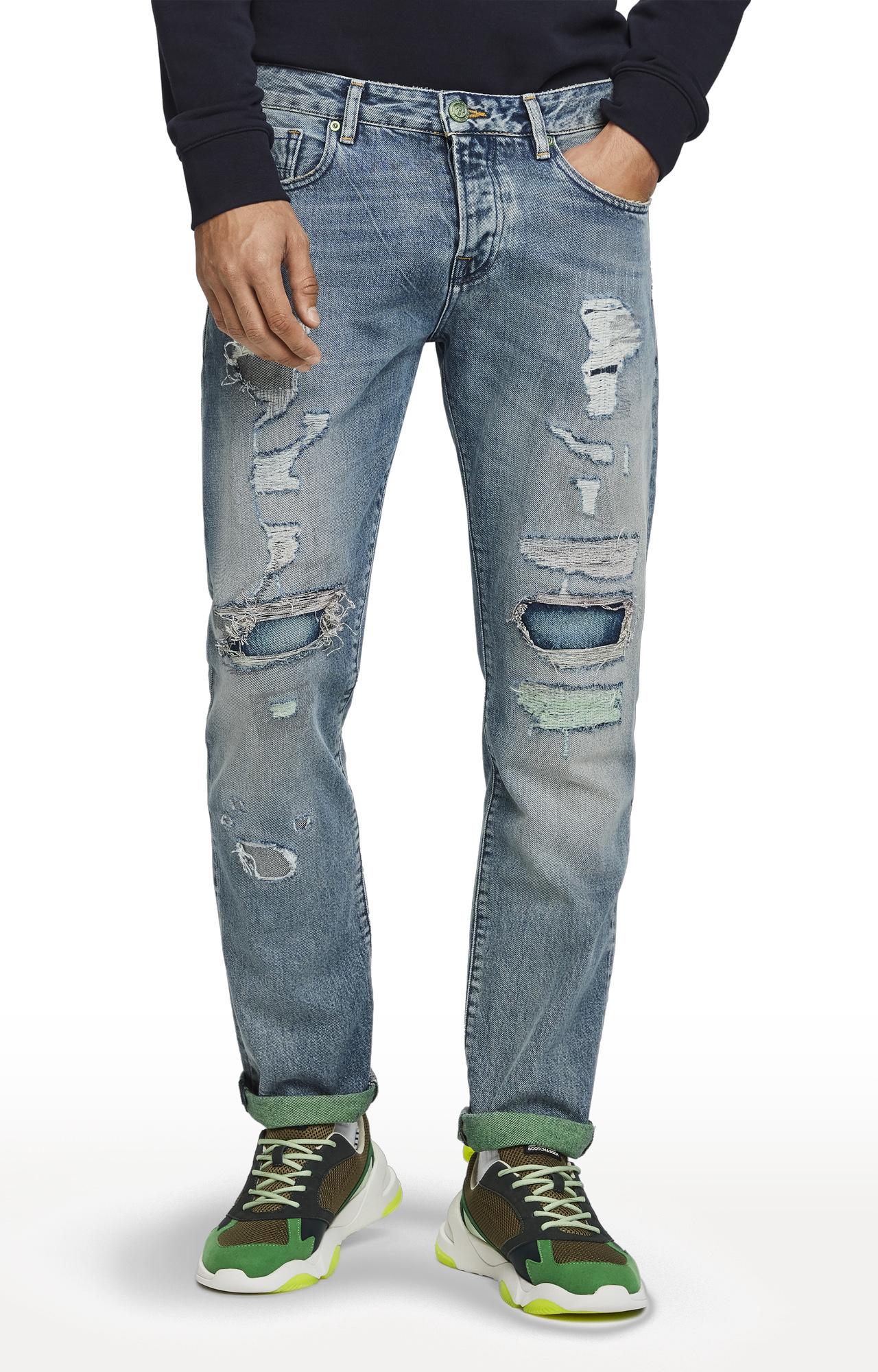 Scotch & Soda | Blue Ripped Lot 22 Vernon Jeans