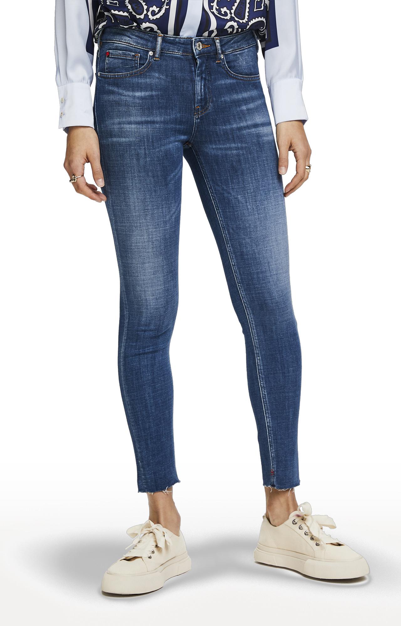 Scotch & Soda | Blue Solid LA Bohemienne Cropped Jeans