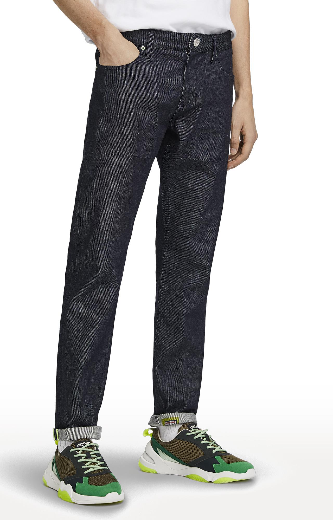 Scotch & Soda   Indigo Solid Lot 22 Reversible SelvedgeJeans