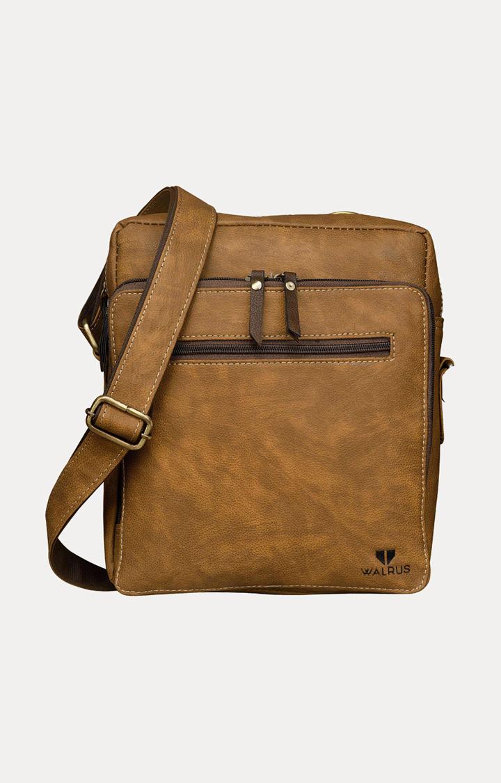 Walrus | Dark Beige Messenger Bag