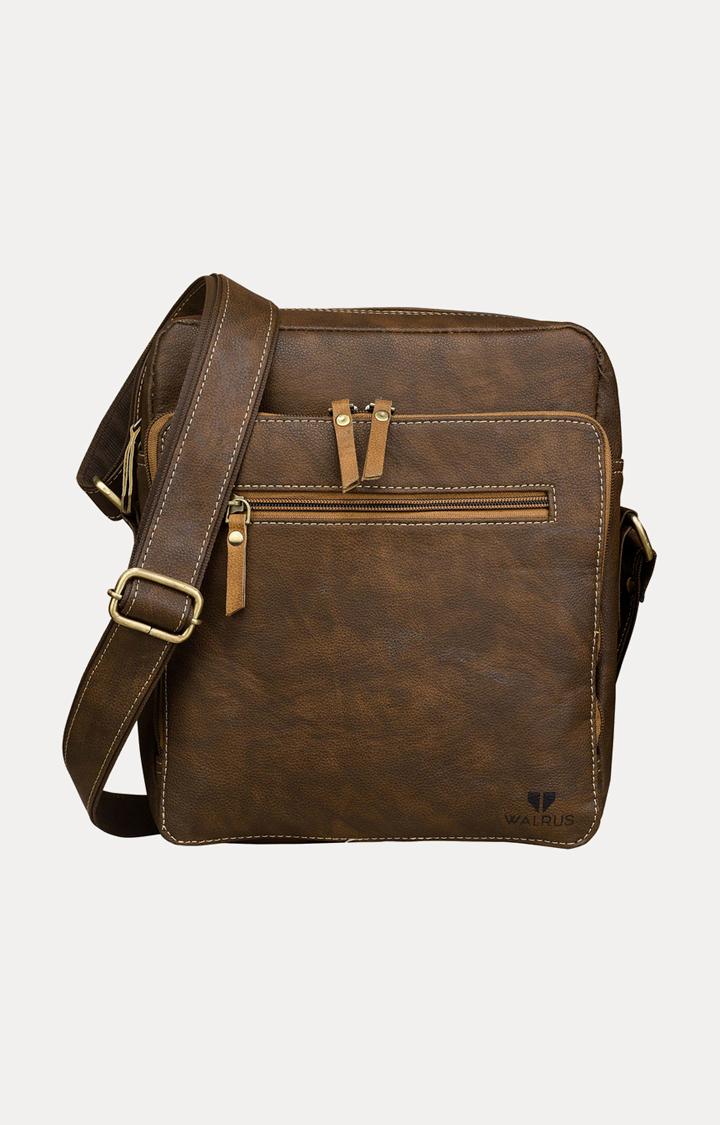 Walrus | Brown Messenger Bag