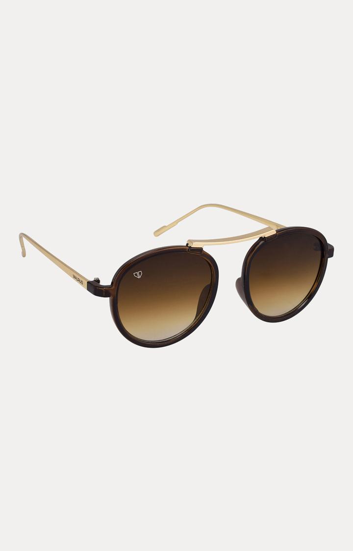 Walrus | Brown Round Sunglasses