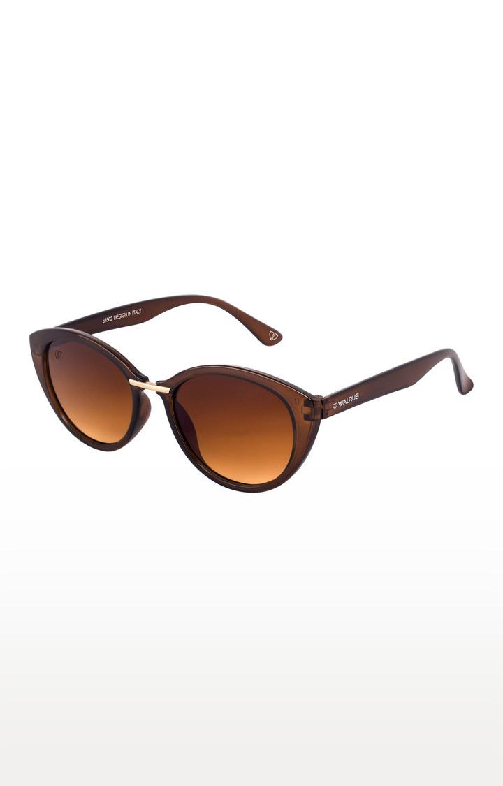Walrus | Brown Cateye Sunglasses