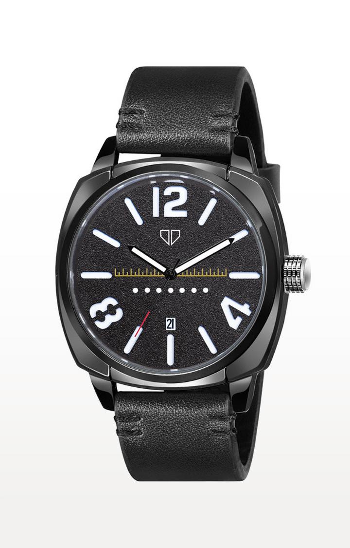 Walrus | Black Incubator Analog Function Premium Quality Trendy Watch