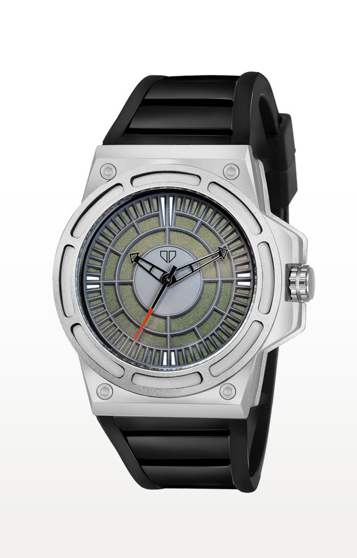 Walrus   Black Raider Analog Function Premium Quality Trendy Watch