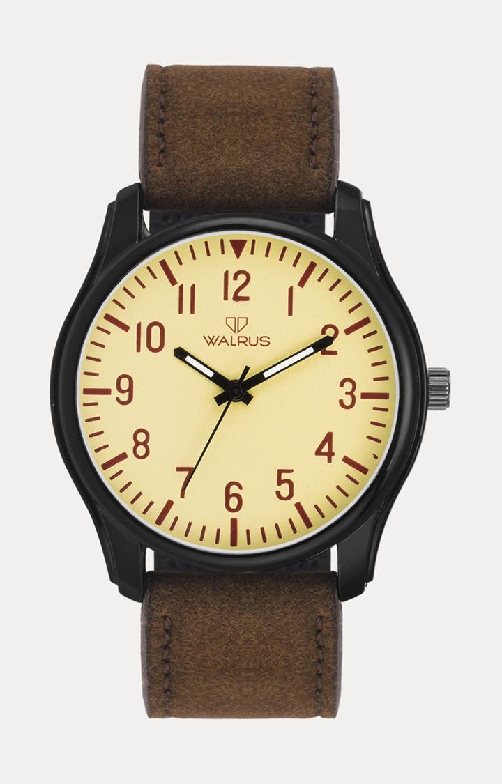Walrus | Brown Analog Watch