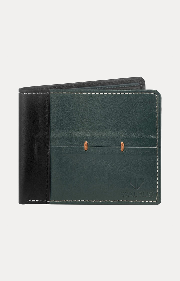 Walrus | Green and Black Wallet