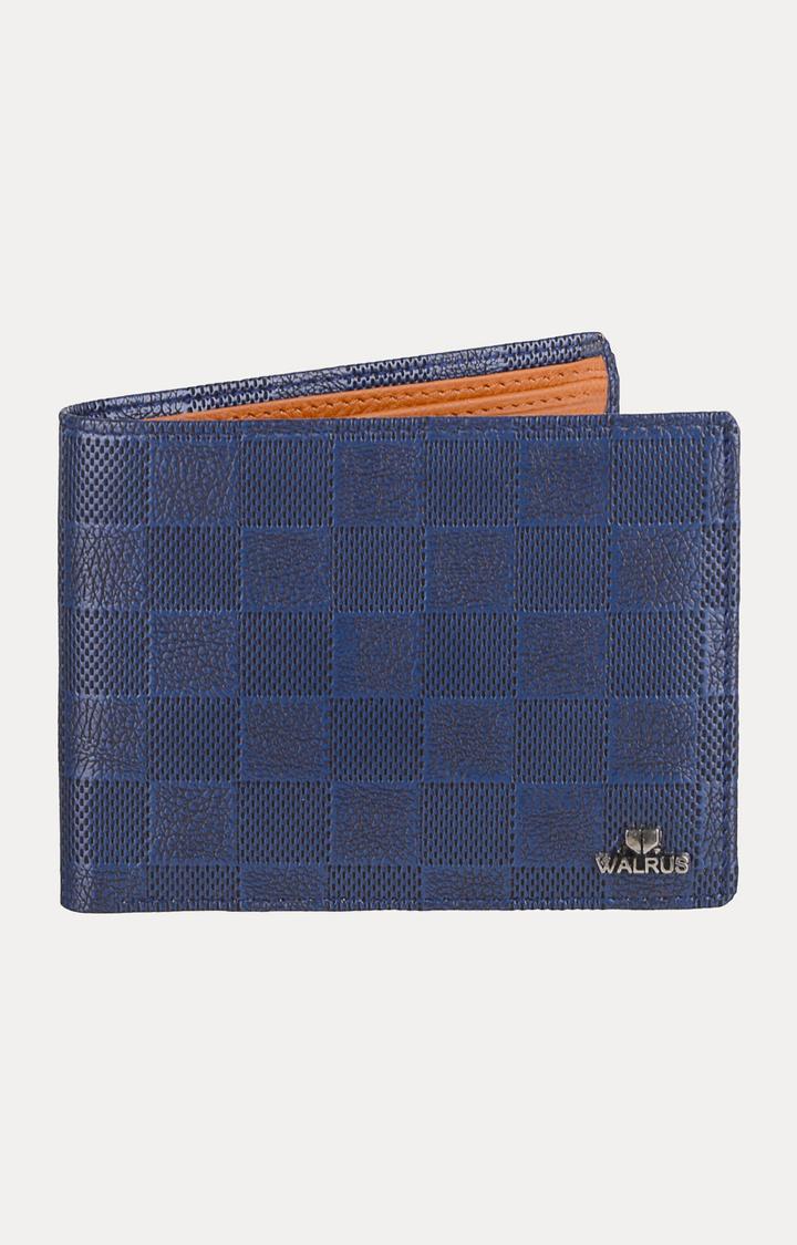 Walrus | Blue and Beige Wallet
