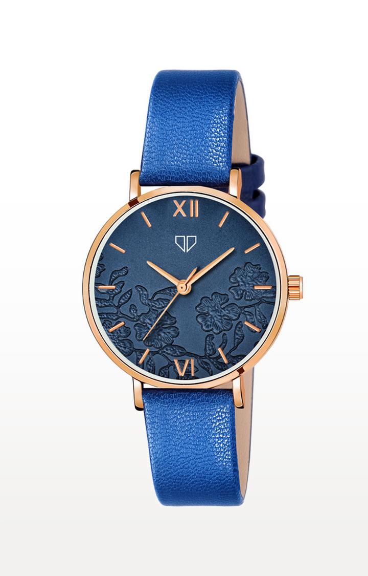 Walrus   Blue Venice Analog Function Premium Quality Trendy Watch