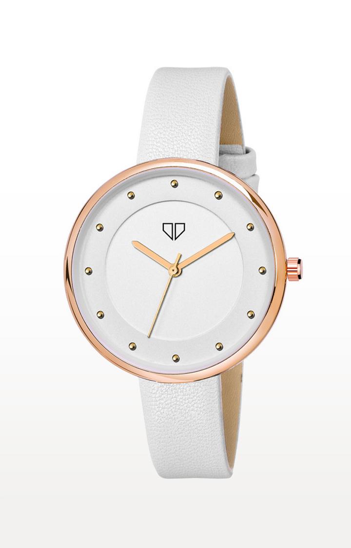 Walrus | White Venice III Analog Function Premium Quality Trendy Watch