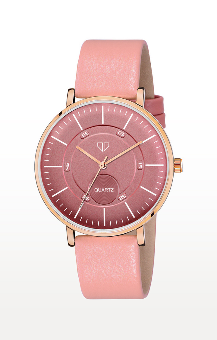 Walrus | Pink Venice IV Analog Function Premium Quality Trendy Watch