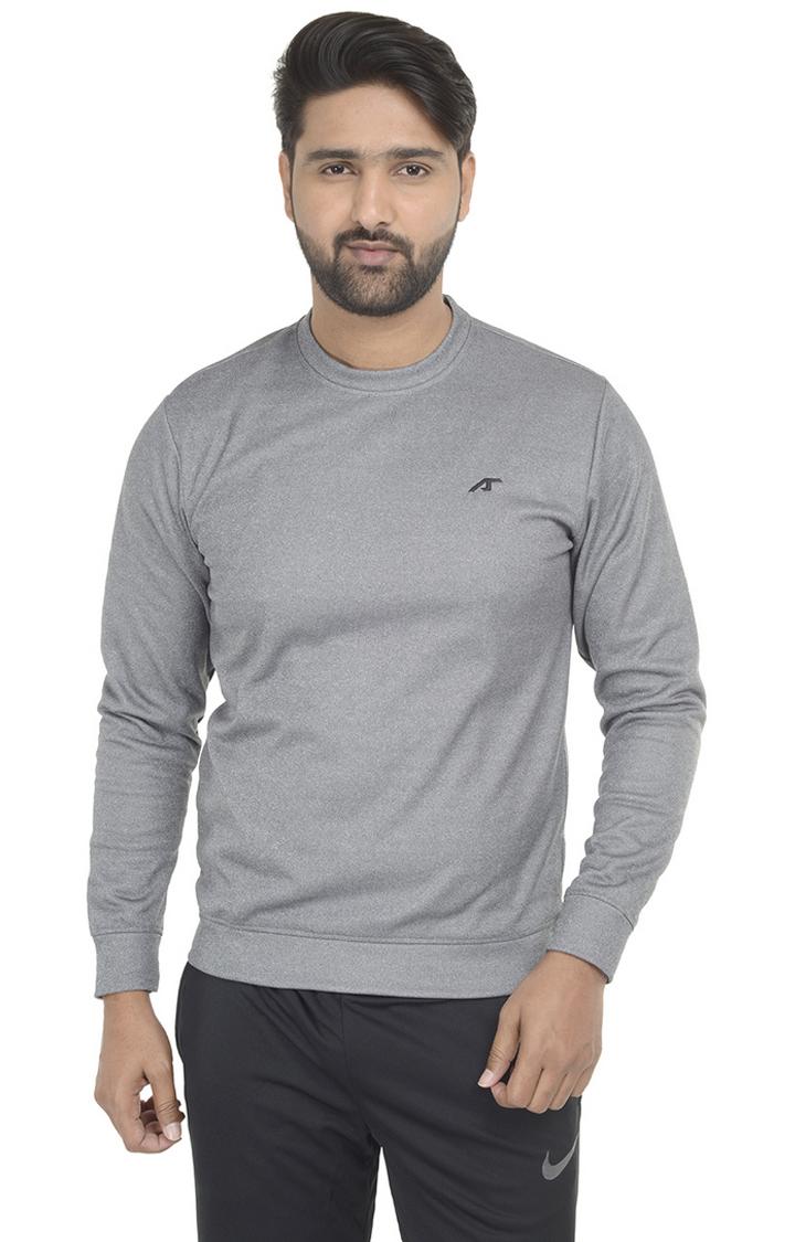 ALCIS | ALCIS Grey Melange Sweatshirt