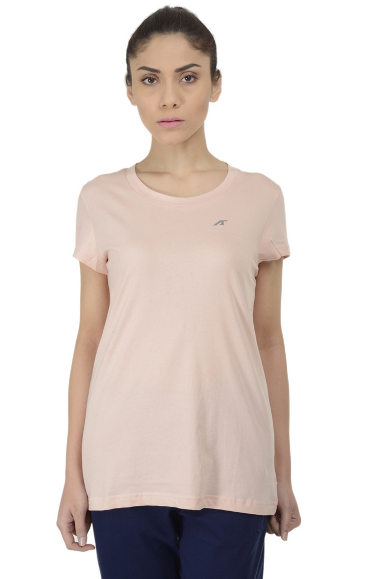 ALCIS   ALCIS Pink Solid T-Shirt