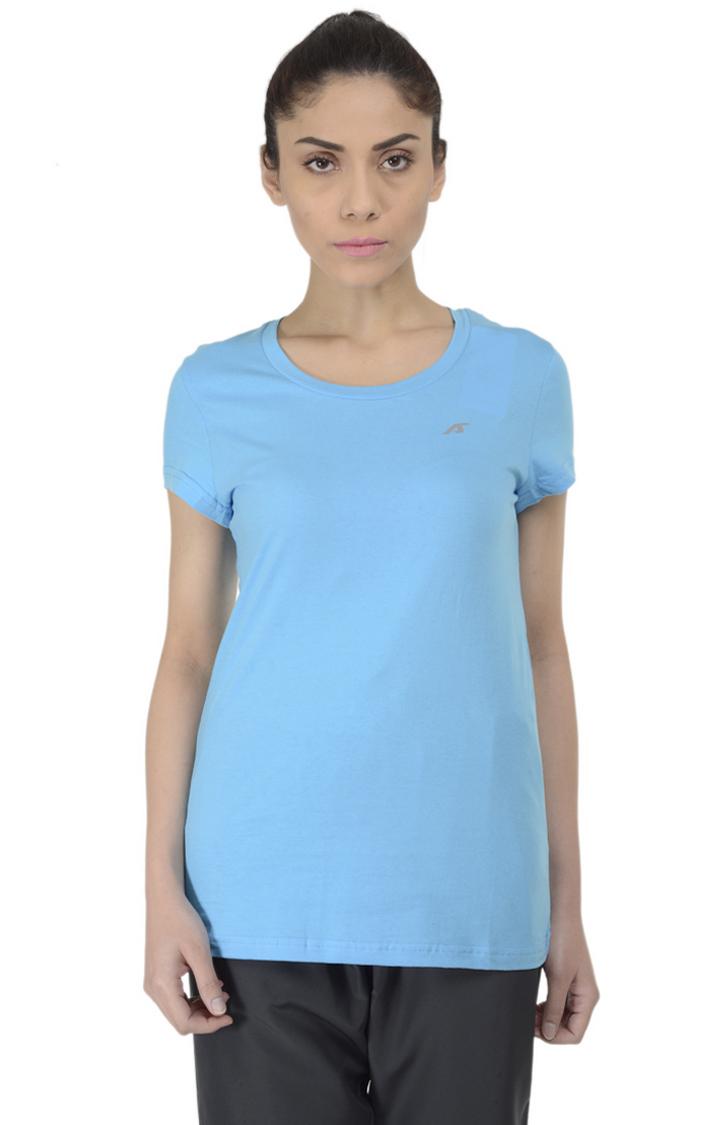 ALCIS | ALCIS Blue Solid T-Shirt