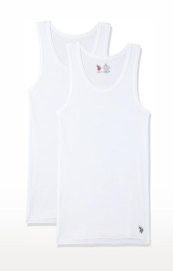 U.S. Polo Assn. | CTN Rib Vest-2Pc-White